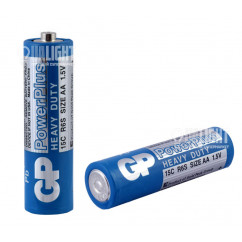 Батарейка GP PowerPlus R6 Heavy Duty 1.5V