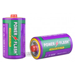 Батарейка Power Flash R20, D 1.5V
