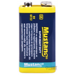 Батарейка Mustang Super Heavy Duty 6F22 Krona