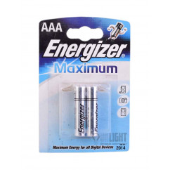 Батарейка ENERGIZER LR03 Maximum 1x2