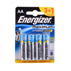Батарейка ENERGIZER MAXIMUM Power Boost LR6 Alkaline 1x4